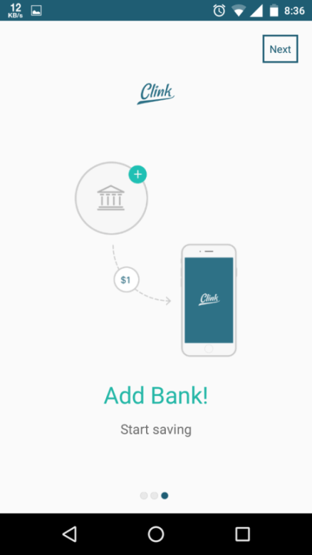 add your savings