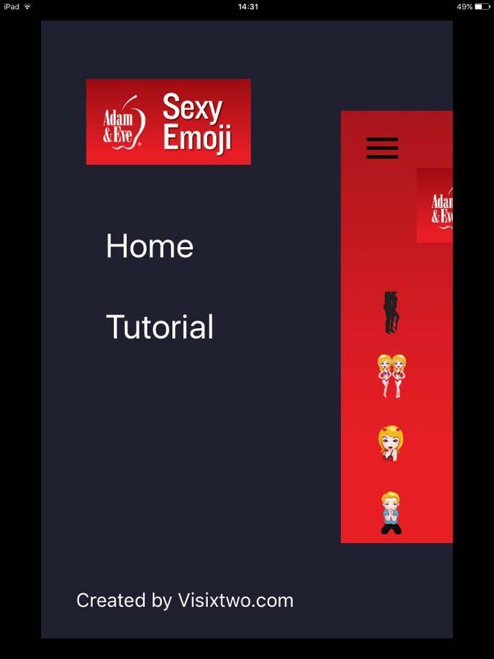 Adam and Eve| Free Naughty Emoji App For iPhone And iPad