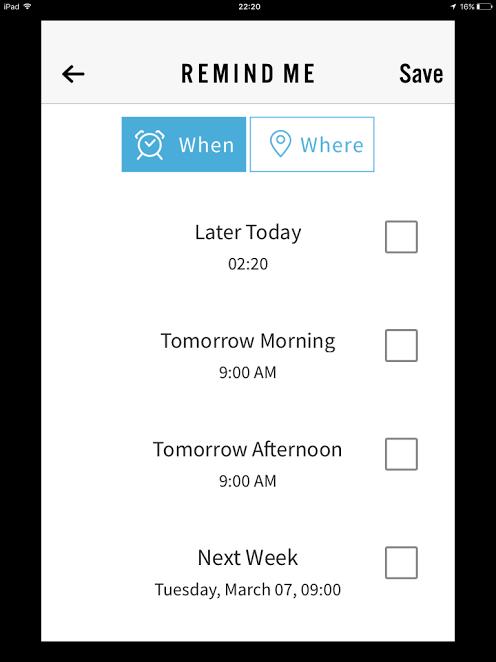 when where