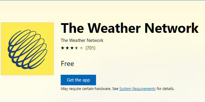 weather networks