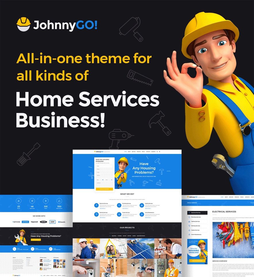 JohnnyGo WordPress Theme