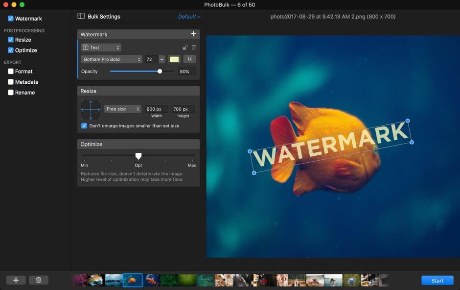 Batch simple image editor for Mac