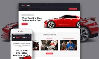 Car Tuning WordPress Template