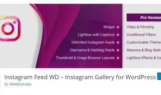 instagram wp plugins