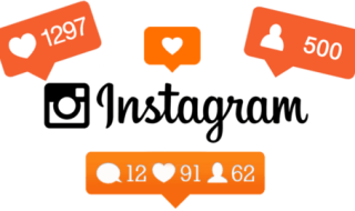 Instagram orange