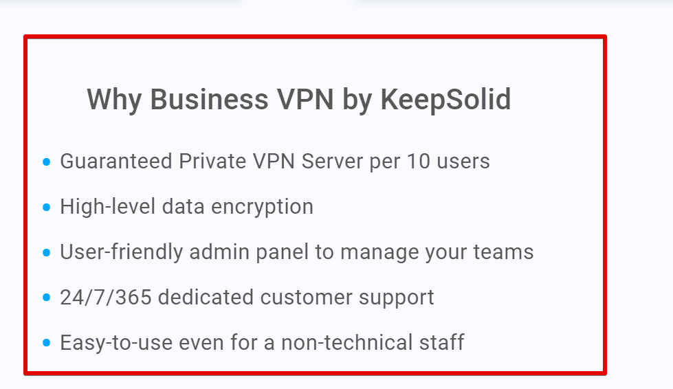Buy Business VPN by KeepSolid