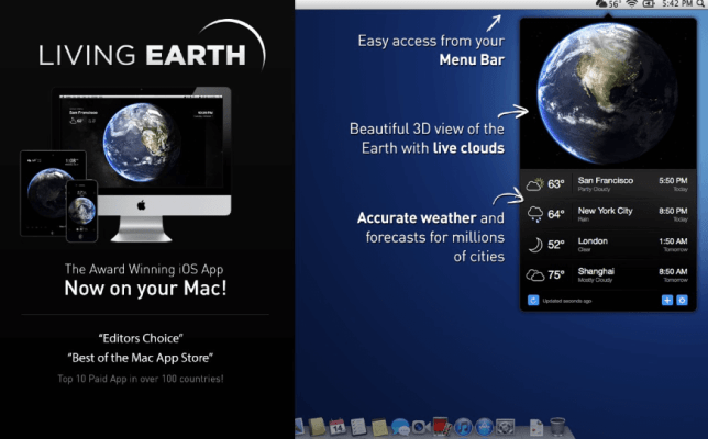 weather apps mac