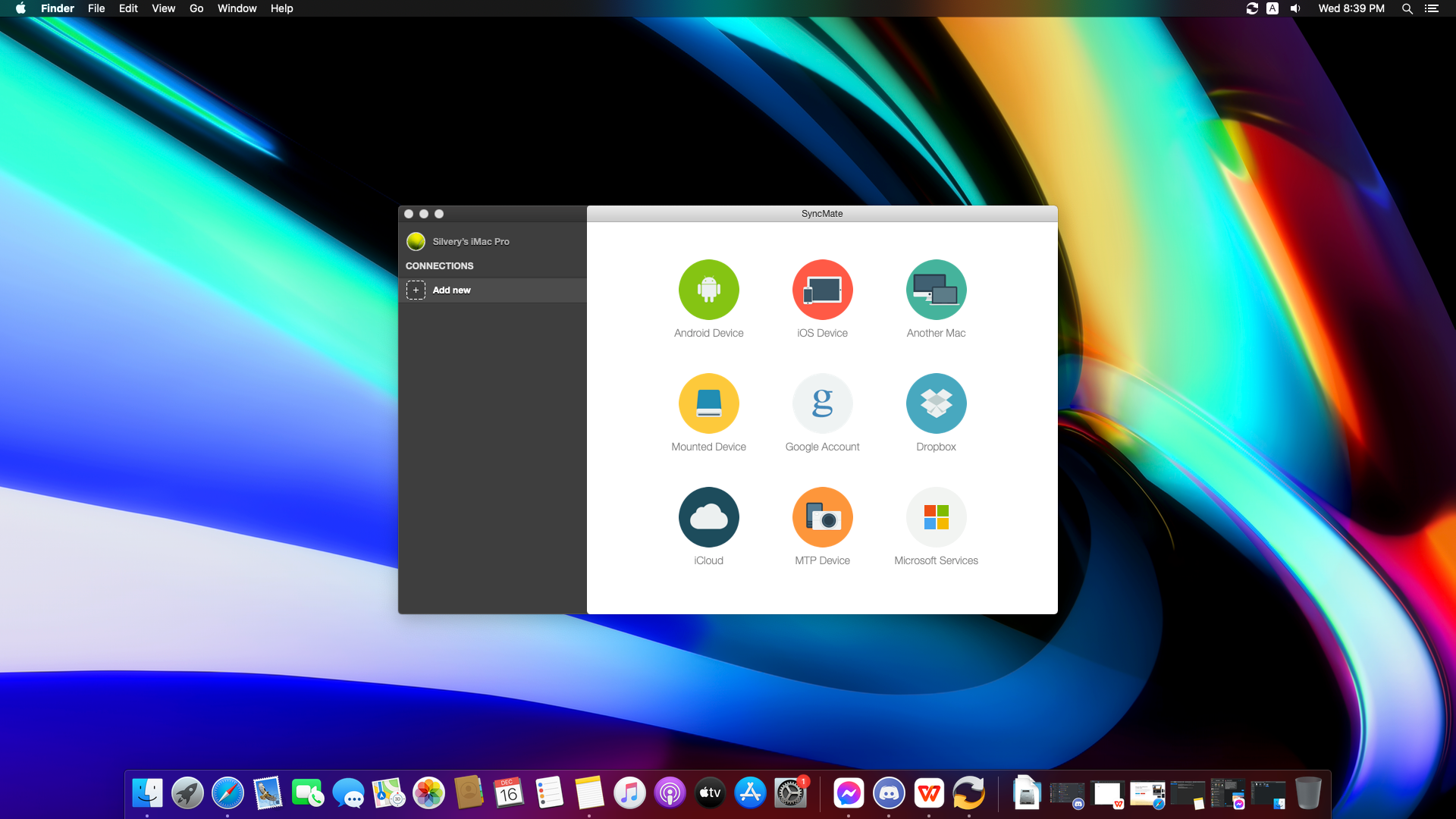 How to use SyncMate on macOS - 2