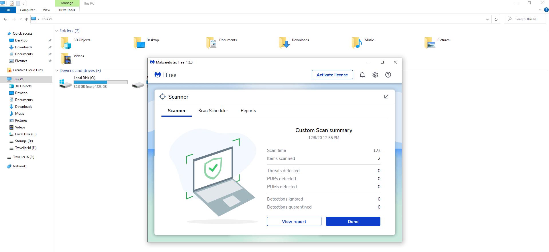 Windows Malware Check