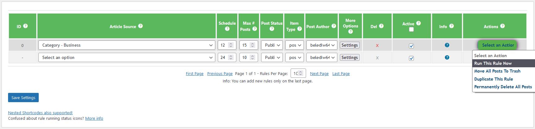 Add custom news posts - 10