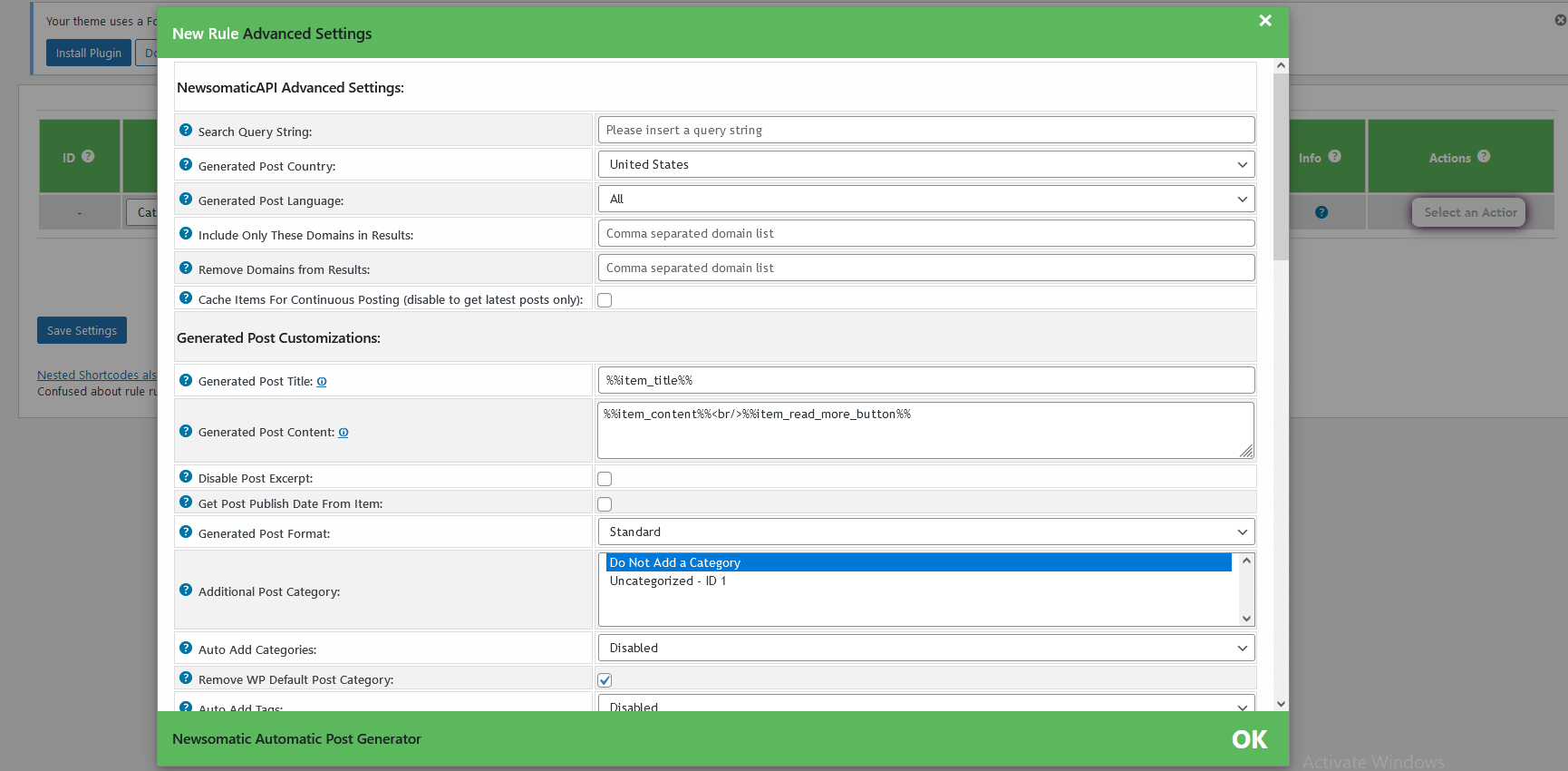 Add custom news posts - 9