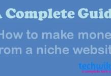 make money from niche site