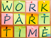 work part time jobs