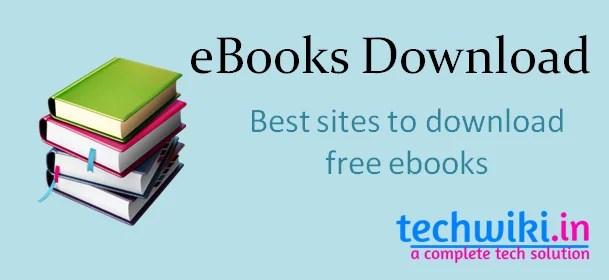 FREE EBOOK SITES EBOOK DOWNLOAD