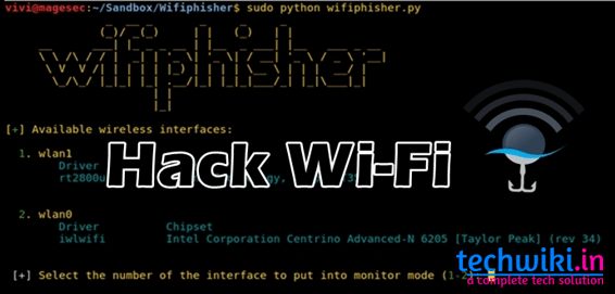 Hack Wi-Fi Password