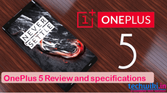 OnePlus 5 Specs ,Reviews ,Features And Buy online Price in India