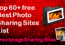 Photo Sharing Sites List