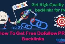 Get high quality PR8 Backlinks - techwiki