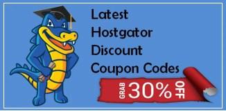 Latest Hostgator Discount Coupon Codes For November 2017 upto 75%