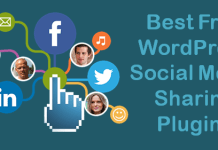 WordPress Social Media Sharing Plugins