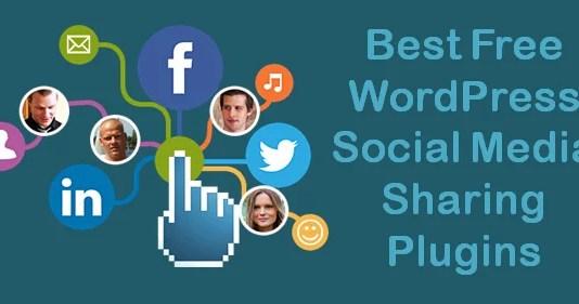 WordPress Social Media Sharing Plugins