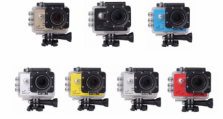SJ5000 the sports camera with live view that you can use in your drone