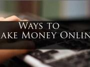 Ways to Earn Money Online