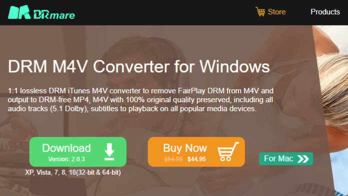 DRM M4V Converter for Windows