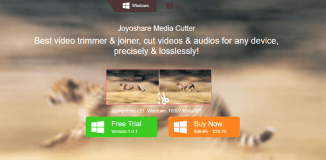 Joyoshare Media Cutter tool