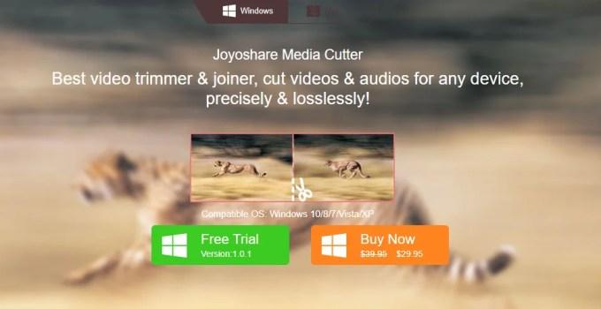 Joyoshare Media Cutter tool