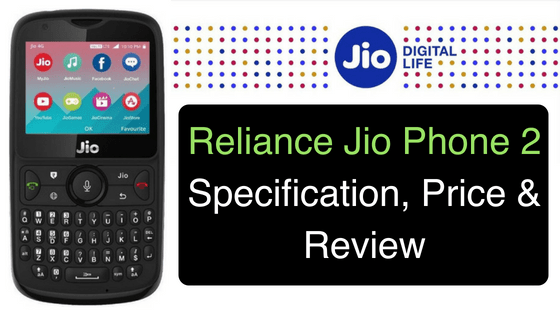 Reliance Jio Phone 2 Specification, Price & Review (3)