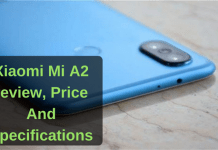 Xiaomi Mi A2 review, Price And Specifications