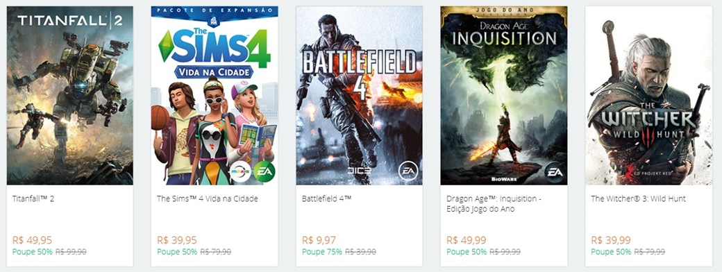 Origin Promotion Brings Up To 83% Off On Numerous Great Games