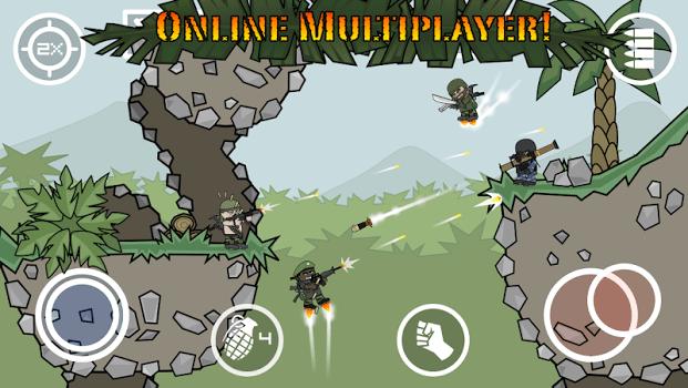 Doodle Army 2: Mini MilitiaFor PC