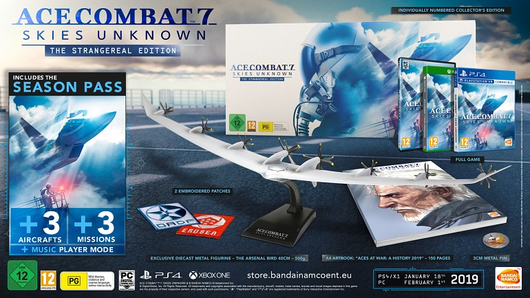 All you need to know about Collector's Edition of Ace Combat 7