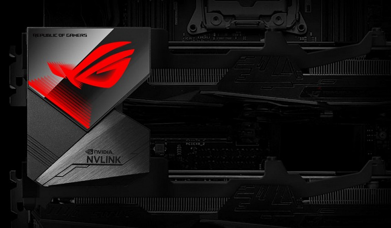 Here are the first NVLink Bridges for Custom GeForce RTX