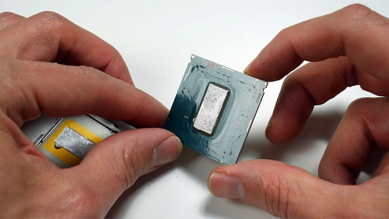 This is how an Intel Core i9-9900K is Disassembled