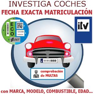 Investiga Coches – Fecha Exacta  Matrículación For PC (Windows & MAC)