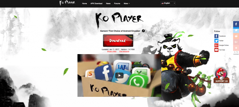 KOplayer for pc