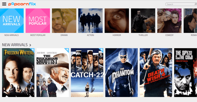 most popular free movies online