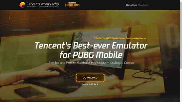 Tencent Gaming Buddy - pubg pc download