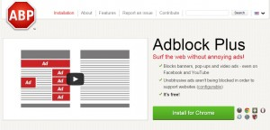 Image Credit: Adblock Plus Website