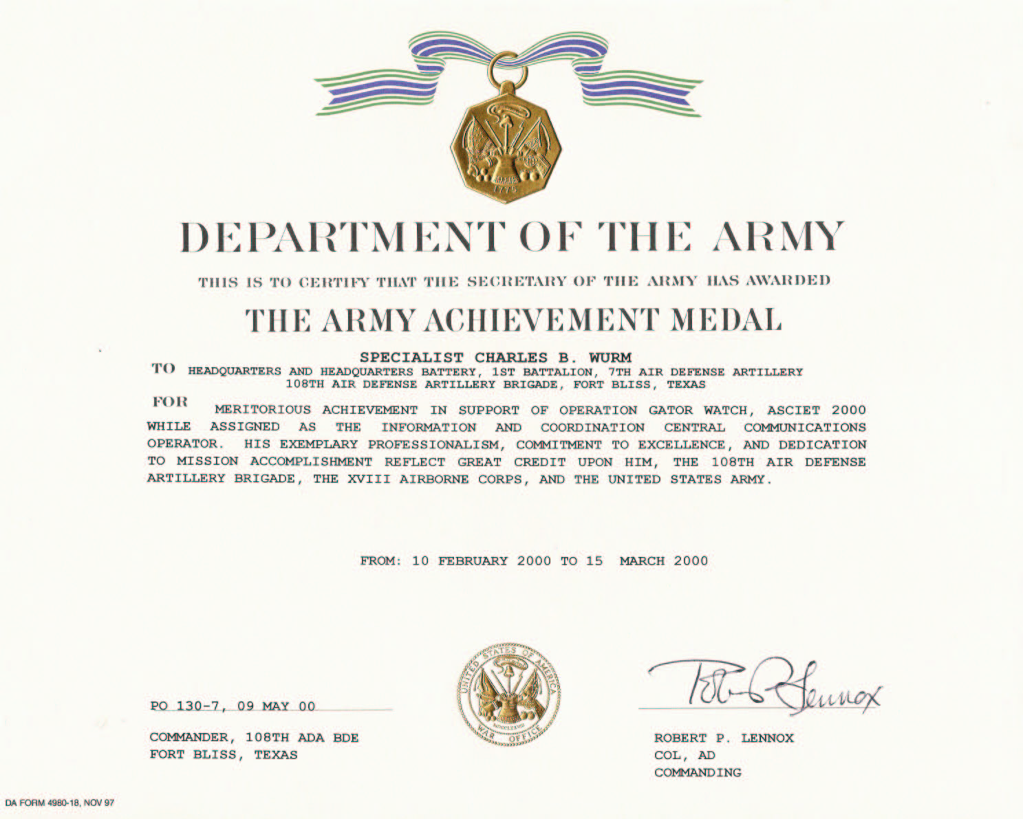 Achievement medal certificate template army achievement medal certificate template yelopaper Images