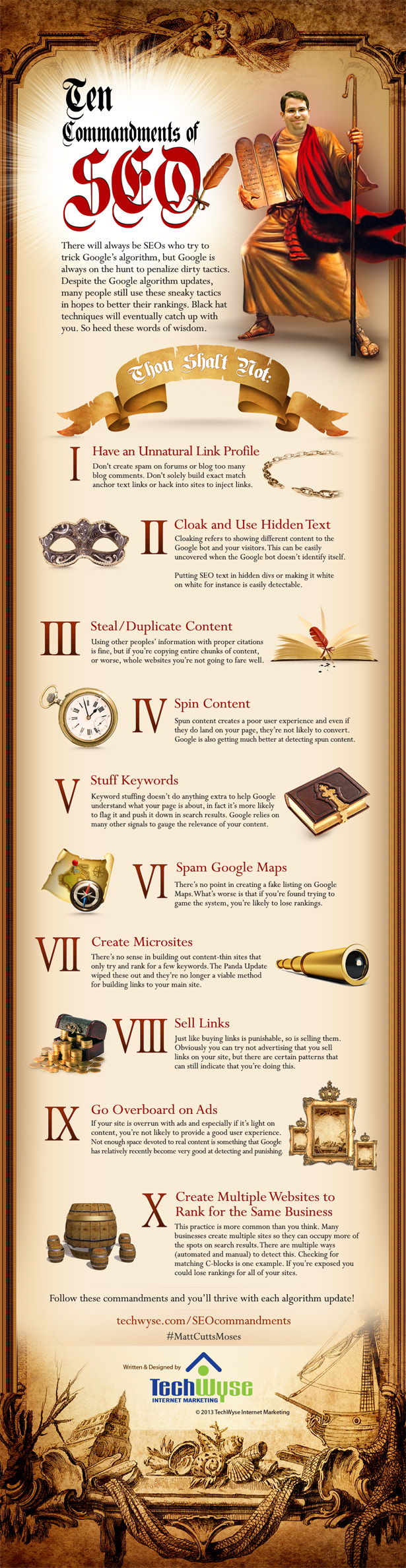 10 Commandments of SEO