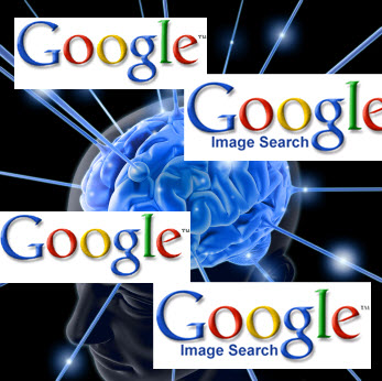 google images and brain