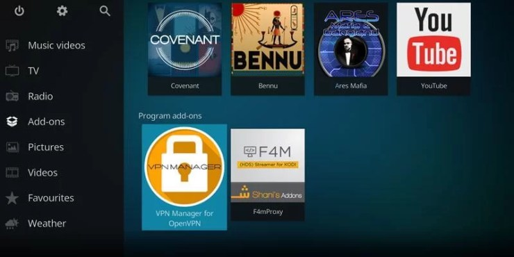 How to Setup Kodi VPN using VPN Manager for OpenVPN