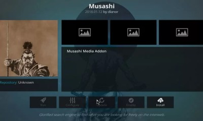 Musashi Kodi Add-On