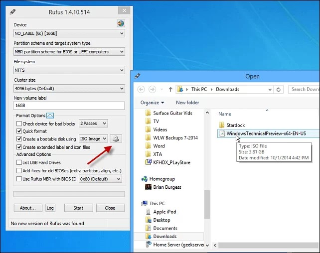 How to Use Rufus Windows 10