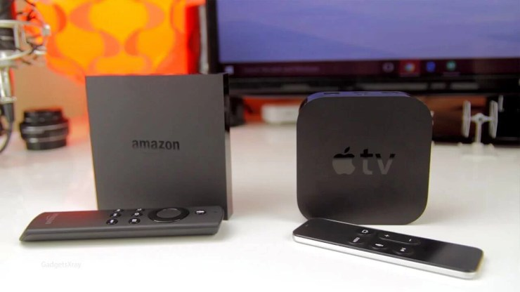 Apple TV and Amazon Fire TV: The basics