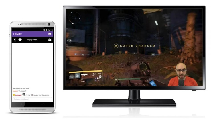 Chromecast Twitch
